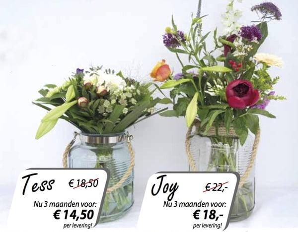 Altijd verse bloemen in huis met Duoplant