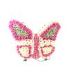 Rouwstuk – Vlinder op standaard