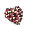 rouwstuk hartvorm 50
