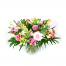 Boeket in roze - Duoplant