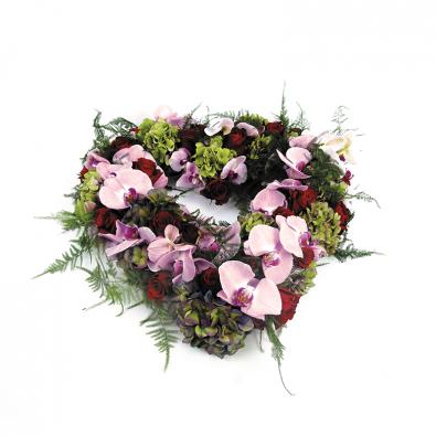Rouwhart Rozen - Hortensia - Orchidee