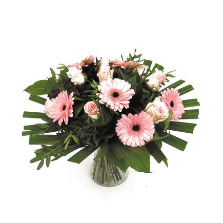 duoplant boeket roze
