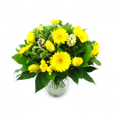 Duoplant - Easter Roses paasboeket