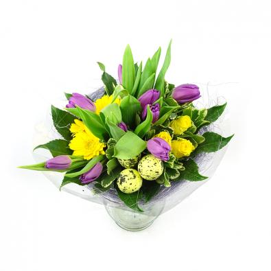 Duoplant - Easter purple boeket