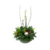 Duoplant - kerststuk met orchidee