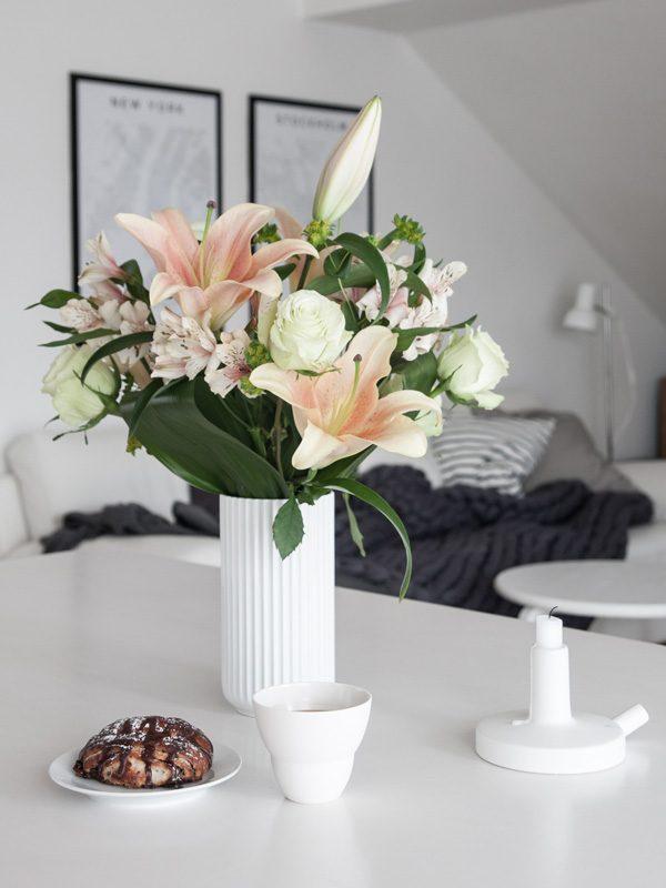 Bloemen in uw interieur
