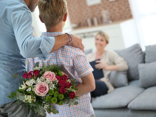 Duoplant Moederdag bloemen