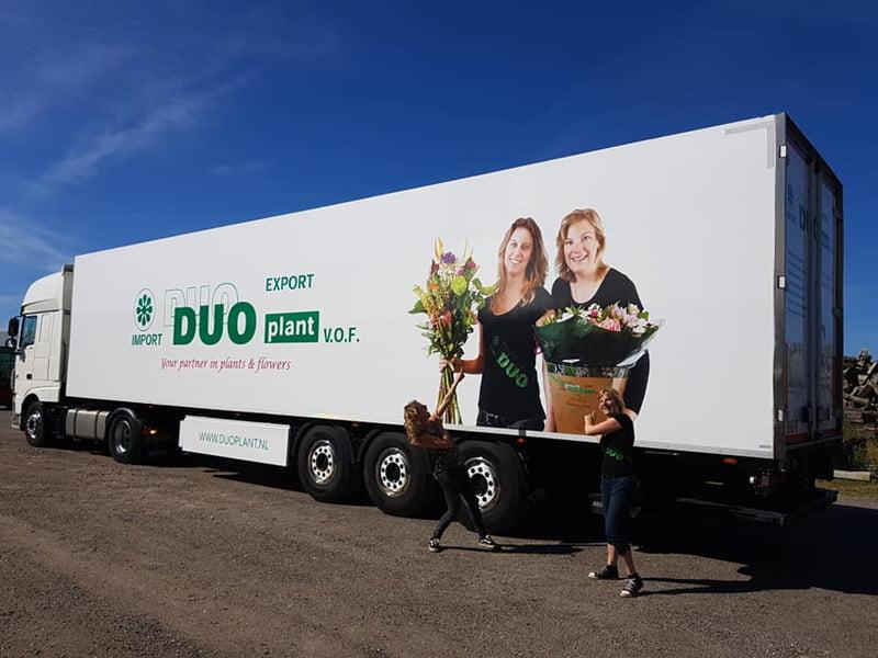 Nieuwe vrachtwagen Duoplant
