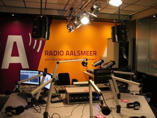 Duoplant bij Radio Aalsmeer